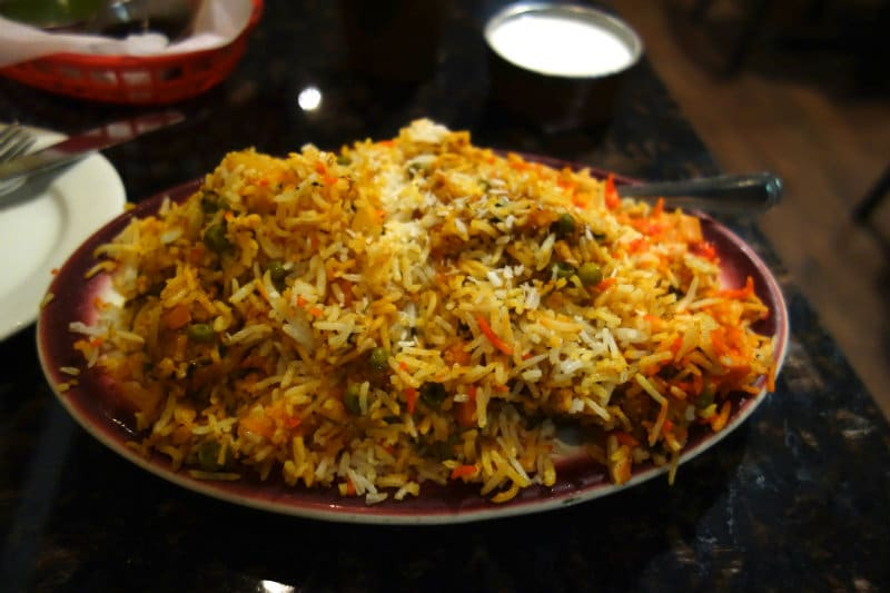 Biryani from Bangladesh