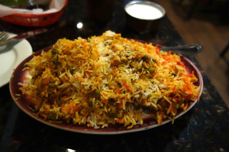 Biryani from Bangladesh
