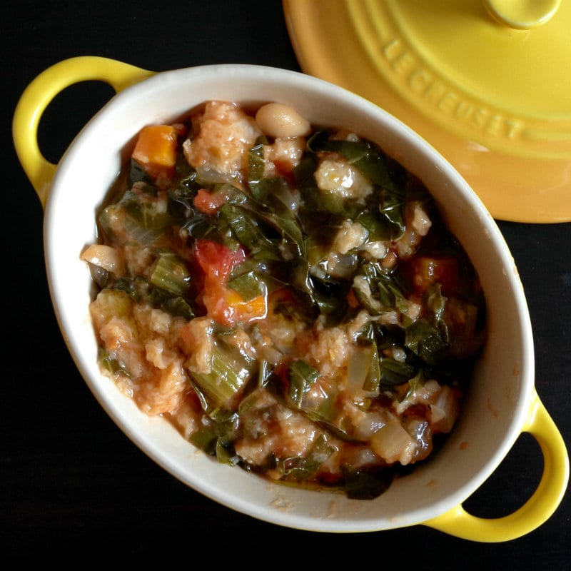 Traditional ribollita