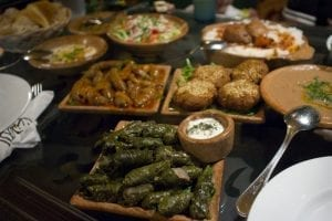 Typical traditional Egyptian food and cuisine