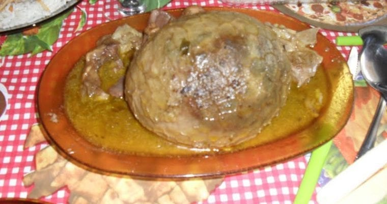 Brazilian Buchada de bode recipe