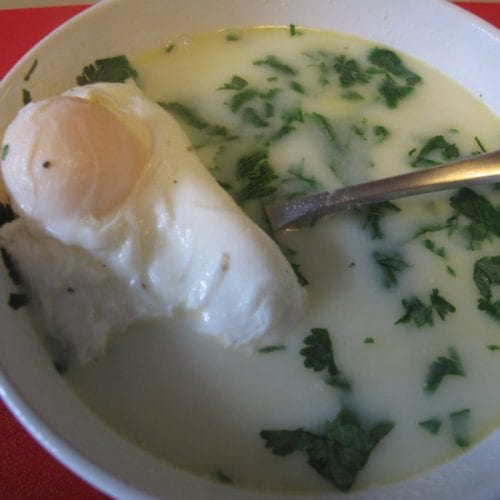 Colombian Changua Recipe (Egg & Milk Soup)