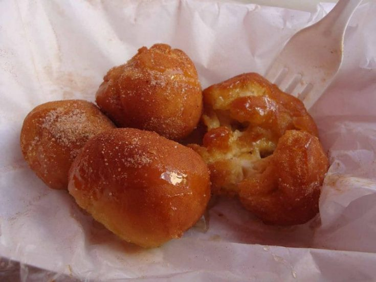 Recipe for deep fried butter balls recipe from the USA