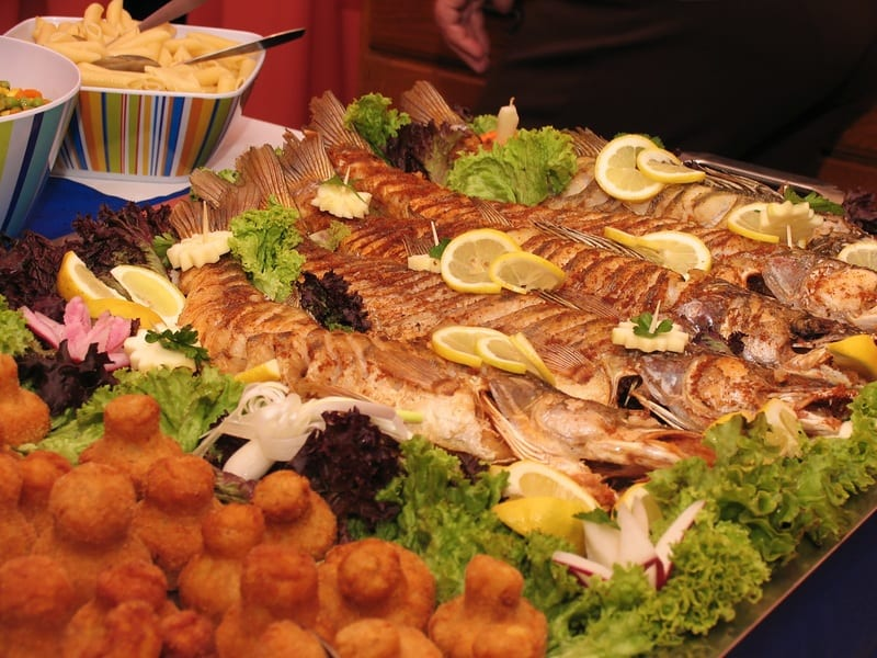 Italian Christmas dinner seven fishes feast
