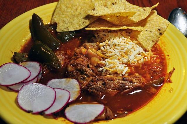 Pozole stew mexico