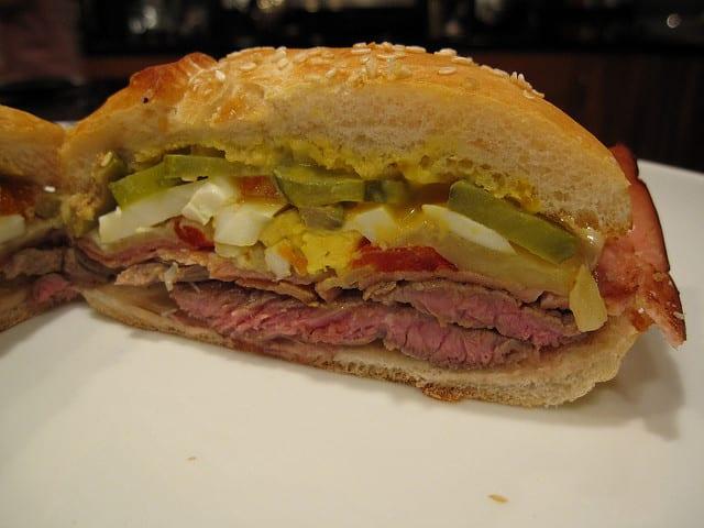 Chivito is South America's greatest sandwich