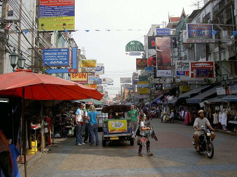 Bangkok Koh San Road