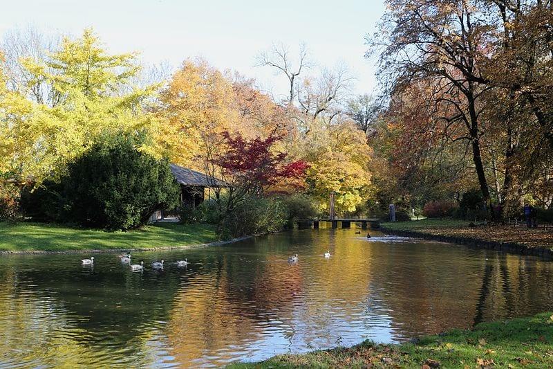 Englischer Garten (The English garden)
