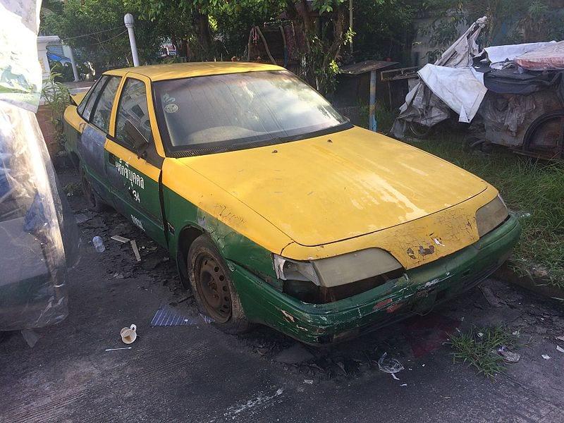 Unlicensed Thai Taxi