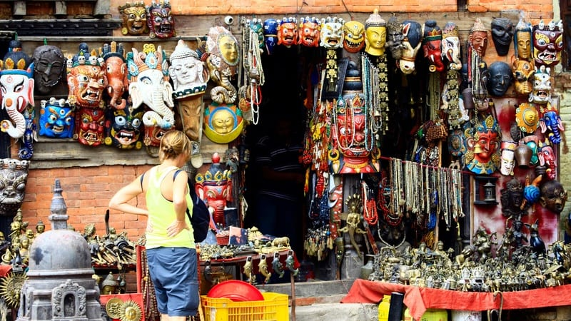 Marrakesh market scam