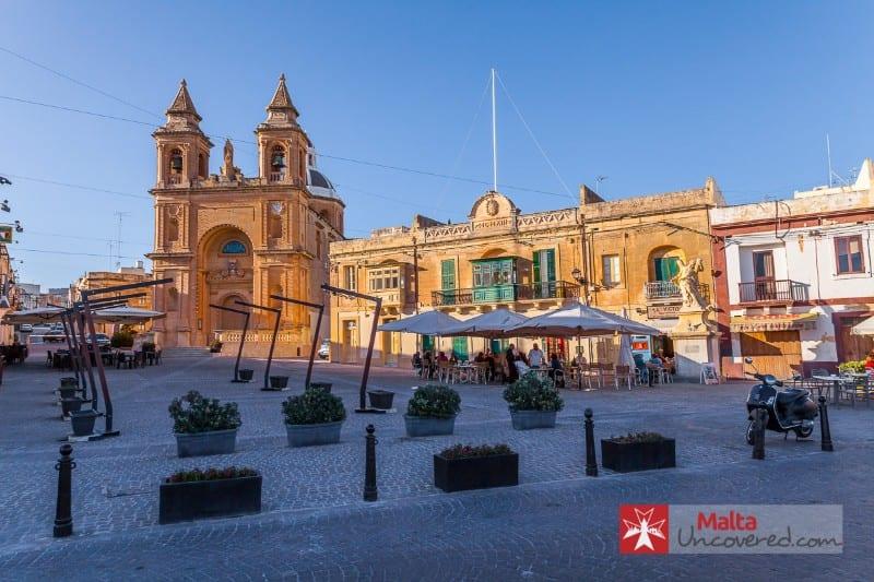 Place de la ville de Malte