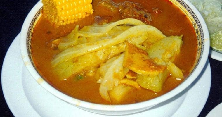 Salvadorian Sopa De Pata Recipe: Cow's Feet Soup