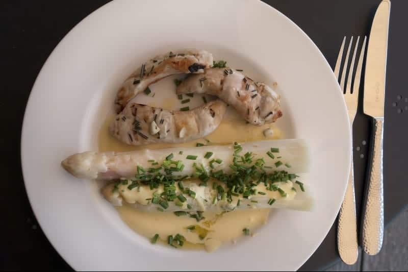 Spargel (asperges blanches)