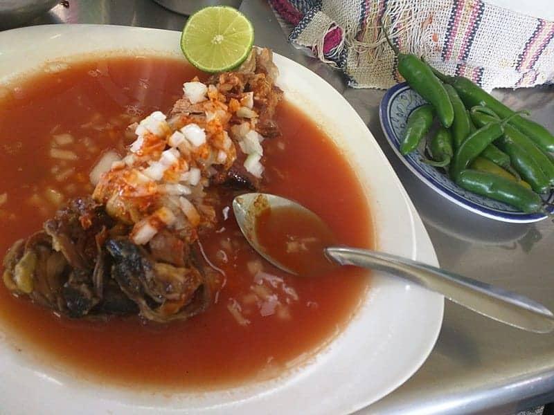 Birria (Goat Soup)