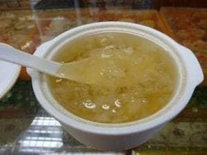 Birds nest soup