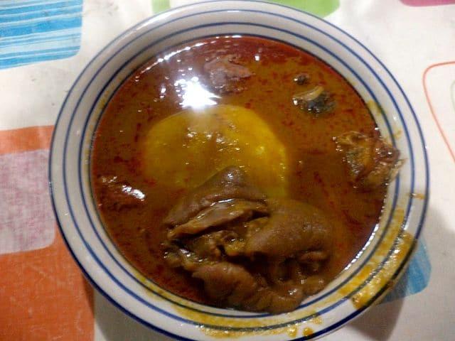 Fufu Soup
