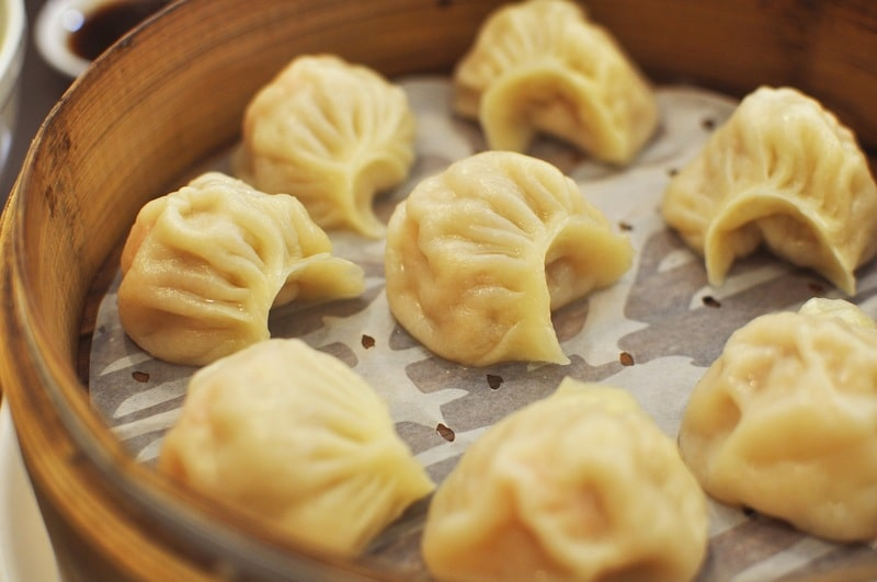 Steamed Mandu Dumplings (Jjin Mandu)