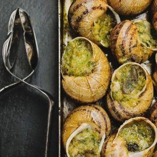 Escargot (Snails) Recipe: A French Delicacy