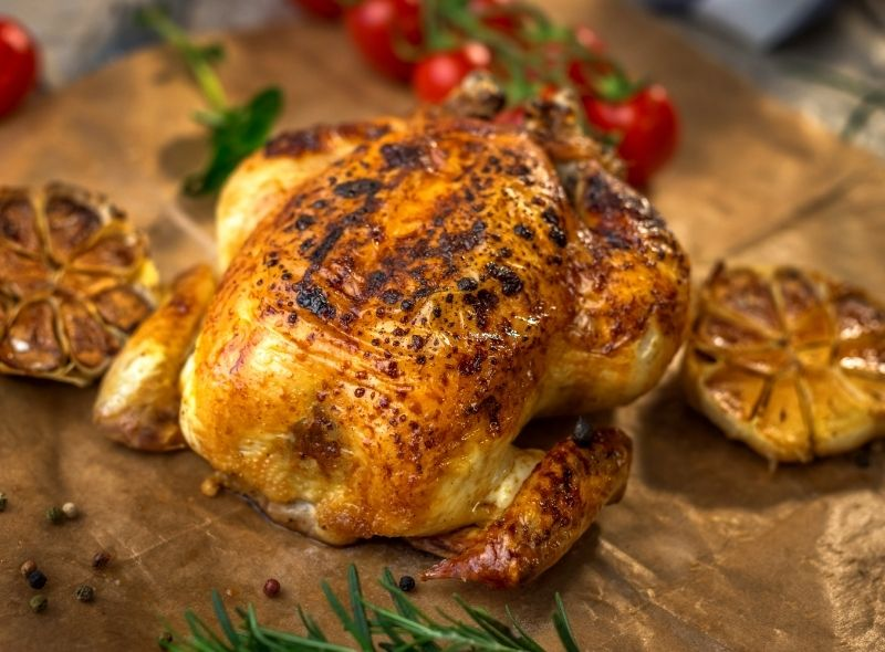 Botswana Chicken in A Hole Recipe