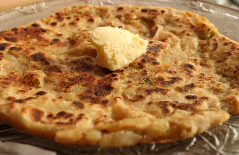 Indian Aloo Paratha Recipe
