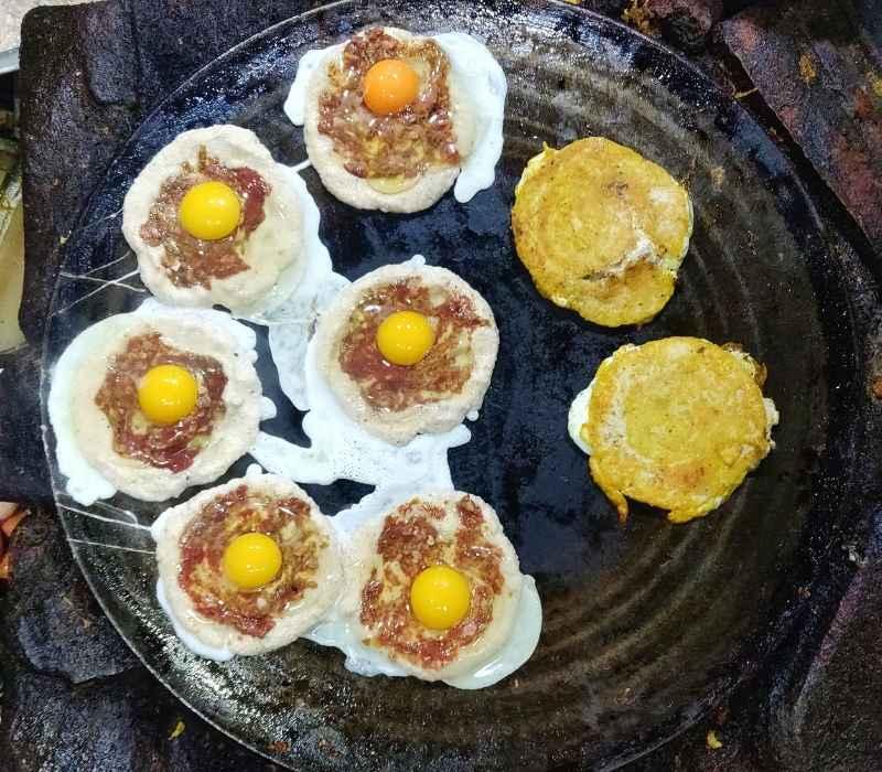 Wo Nepali pancakes